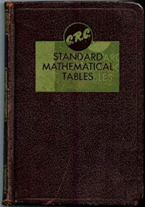 C. R. C. Standard Mathematical Tables 10th: Hodgman, Charles D.