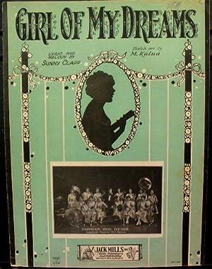 Girl of My Dreams Ukulele arr. By M. Kalua: Clapp, Sunny [words and music]; Kalua, M. [ukelele ...