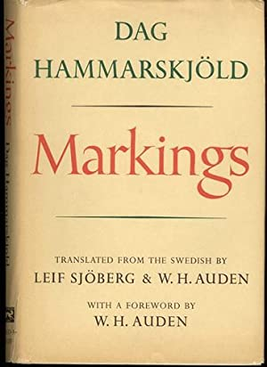 Markings: Hammarskjold, Dag; Sjoberg,