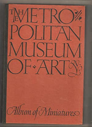 The Metropolitan Museum of Art Album of Miniatures w/Slip Case Box