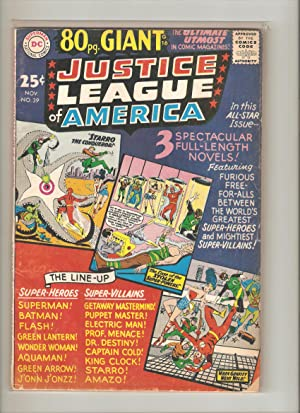 Justice League of America (1st Series) #39