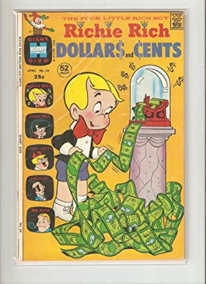 Richie Rich Dollars and Cents #54