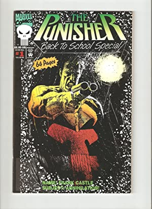 The Punisher: Back to School Special #1