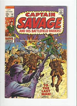 Captain Savage and His Battlefield Raiders (1st Series) #10
