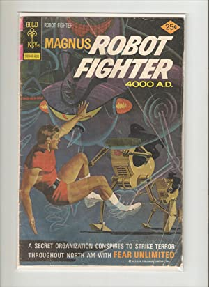 Magnus Robot Fighter #42
