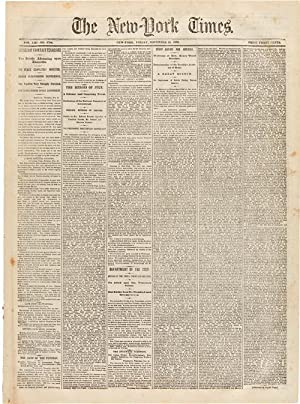 THE NEW-YORK TIMES. VOL. XIII - No.: Lincoln, Abraham]: