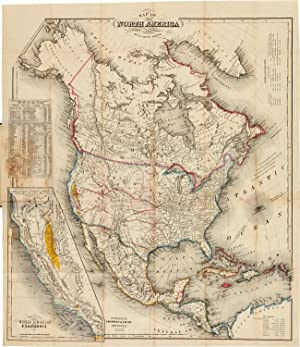 MAP OF NORTH AMERICA [caption title]: Smith, J. Calvin