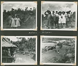 [PHOTOGRAPH ALBUM CONTAINING OVER ONE HUNDRED THIRTY ORIGINAL IMAGES COMPILED BY A MEMBER OF THE ...