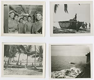 [FASCINATING COLLECTION OF TWENTY ANNOTATED ORIGINAL PHOTOGRAPHS OF PACIFIC THEATER ACTIVITIES DU...