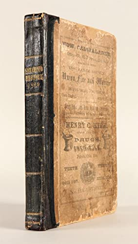 SACRAMENTO CITY AND COUNTY DIRECTORY, FOR 1869