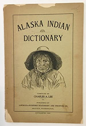 ALEUTIAN INDIAN AND ENGLISH DICTIONARY.