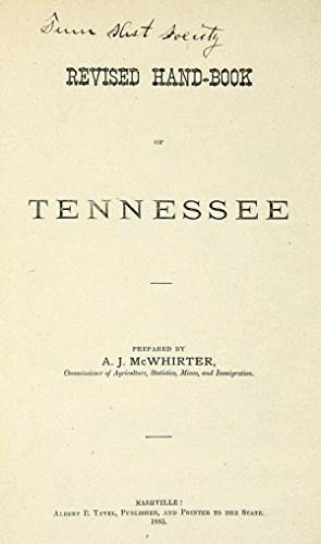REVISED HAND-BOOK OF TENNESSEE