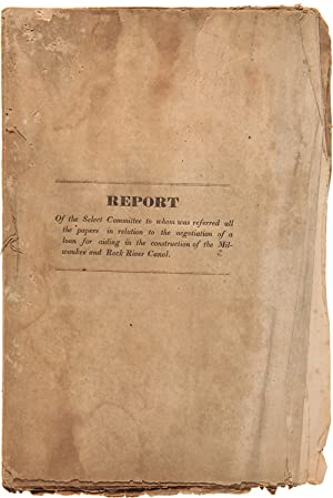 REPORT OF THE SELECT COMMITTEE TO WHOM WAS REFERRED ALL THE PAPERS IN RELATION TO THE NEGOTIATION...