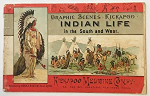 GRAPHIC SCENES. KICKAPOO INDIAN LIFE IN THE SOUTH AND WEST