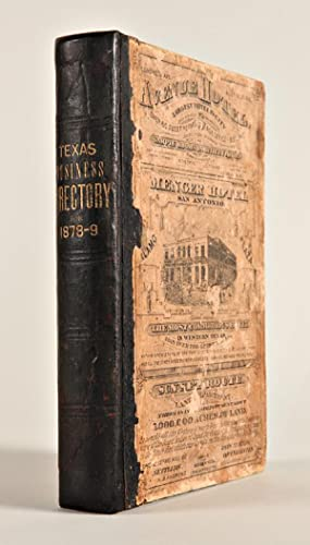 TEXAS BUSINESS DIRECTORY FOR 1878-9