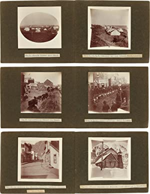 [ANNOTATED COLLECTION OF VERNACULAR ALASKAN VIEWS TAKEN AND ORGANIZED DURING THE LATTER YEARS OF ...