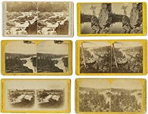 [GROUP OF EIGHT STEREOVIEWS OF LATE 19th-CENTURY MINNESOTA]