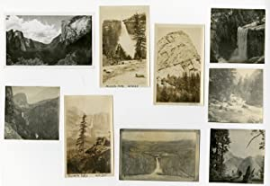 [GROUP OF THIRTY-SEVEN YOSEMITE SNAPSHOTS FROM 1920 AND 1925 HOLIDAYS]