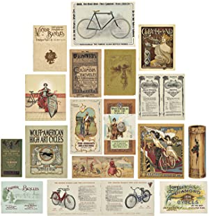 [ARCHIVE OF AMERICAN BICYCLE MANUFACTURERS' CATALOGUES AND ADVERTISING PAMPHLETS]