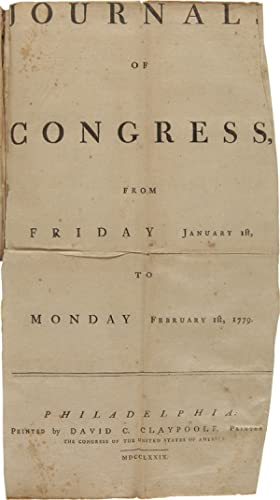 [COMPLETE SET OF THE MONTHLY AND WEEKLY ISSUES OF THE JOURNALS OF CONGRESS FOR THE YEAR 1779]