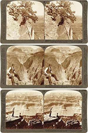 THE GRAND CAÑON OF ARIZONA THROUGH THE STEREOSCOPE. THE UNDERWOOD PATENT MAP SYSTEM COMBINED WITH...