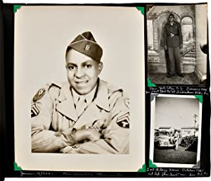 [PHOTOGRAPH ALBUM BELONGING TO AFRICAN-AMERICAN SOLDIER, LEON BILES JR., 1944-46, DOCUMENTING HIS...