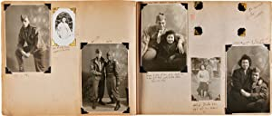 [PAIR OF ANNOTATED VERNACULAR PHOTOGRAPH ALBUMS DOCUMENTING THE WORLD WAR II EXPERIENCES OF AFRIC...