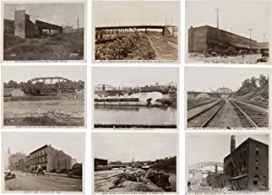 [SUBSTANTIAL COLLECTION OF ANNOTATED PHOTOGRAPHS PERTAINING TO THE DEVELOPMENT OF CLEVELAND, OHIO...
