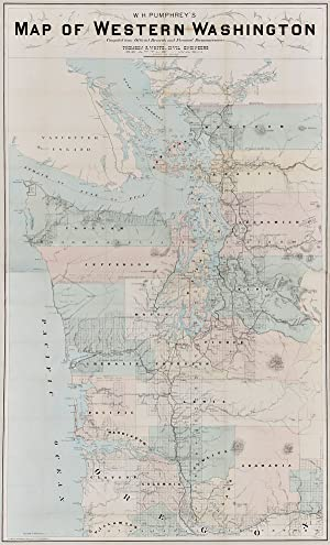 W.H. PUMPHREY'S MAP OF WESTERN WASHINGTON