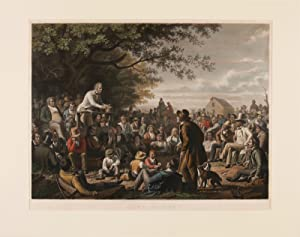 STUMP SPEAKING. THIS PRINT FROM THE ORIGINAL PAINTING BY GEO. C. BINGHAM ESQ. IS RESPECTFULLY DED...