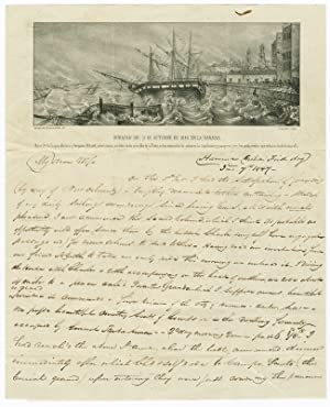 [SUBSTANTIAL AND DETAILED AUTOGRAPH LETTER, SIGNED, FROM M.L. DAWSON, A PHILADELPHIA MERCHANT & B...