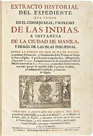 EXTRACTO HISTORIAL DEL EXPEDIENTE QUE PENDE EL: Alvarez de Abreu,