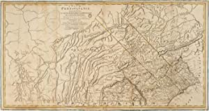 A MAP OF PENNSYLVANIA EXHIBITING NOT ONLY THE IMPROVED PARTS OF THAT PROVINCE, BUT ALSO ITS ...