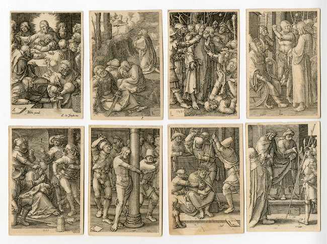 Passion Of Christ Series Par Muller Jan Harmensz Engraved After