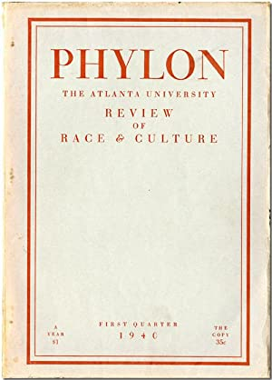 PHYLON THE ATLANTA UNIVERSITY REVIEW OF RACE & CULTURE
