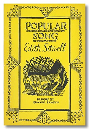 POPULAR SONG: Sitwell, Edith, and