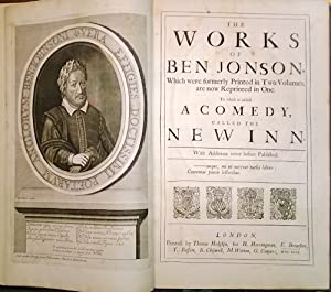 THE WORKS OF BEN JONSON, WHICH WERE FORMERLY PRINTED IN TWO VOLUMES, ARE NOW REPRINTED IN ONE. TO...