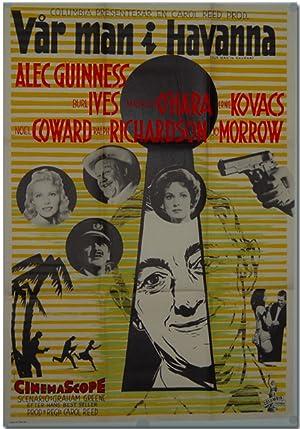 Original Publicity Poster for Swedish Release of:]: Greene, Graham [sourcework