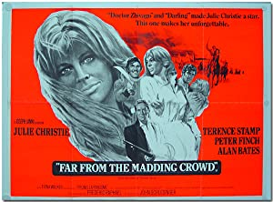 [British Quad Publicity Poster for:] FAR FROM THE MADDING CROWD