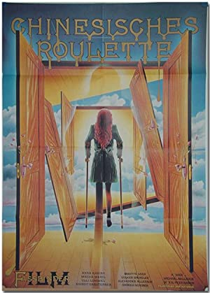 [West German Theatrical Poster for:] CHINESISCHES ROULETTE [CHINESE ROULETTE]