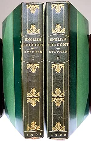 ENGLISH THOUGHT IN THE EIGHTEENTH CENTURY