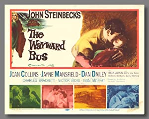 [Set of Color Studio Lobby Cards for:] THE WAYWARD BUS