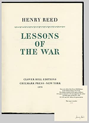 LESSONS OF THE WAR