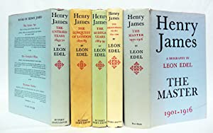 HENRY JAMES THE UNTRIED YEARS 1843 -1870 [with:] HENRY JAMES THE CONQUEST OF LONDON 1870 - 1881 [...