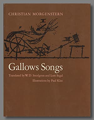 GALLOWS SONGS. By Christian Morgenstern