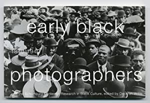 EARLY BLACK PHOTOGRAPHERS 1840-1940