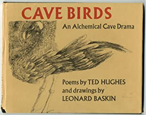 CAVE BIRDS AN ALCHEMICAL CAVE DRAMA . DRAWINGS BY LEONARD BASKIN