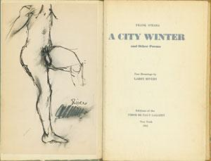 A CITY WINTER AND OTHER POEMS TWO: O'Hara, Frank