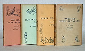 WHEN WE WERE VERY YOUNG [ with:] WINNIE-THE- POOH [with:] NOW WE ARE SIX [with:] THE HOUSE AT POO...