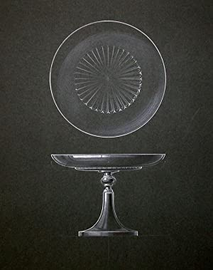 [ORIGINAL DESIGN FOR ART DECO CAKE PEDESTAL]